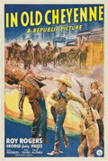 """Movie Posters:Western, In Old Cheyenne (Republic, 1941). One Sheet (27"""" X 41"""").. ..."""
