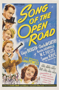 """Song of the Open Road (United Artists, 1944). One Sheet (27"""" X 41"""")"""