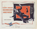 "Movie Posters:Hitchcock, North by Northwest (MGM, 1959). Half Sheet (22"" X 28"").. ..."