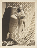 Movie/TV Memorabilia:Autographs and Signed Items, Dorothy Lamour Signed Photo....