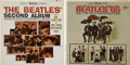 Music Memorabilia:Recordings, Beatles Stereo LP Group of 2 Beatles '65 & Second Album(Capitol 1964-65). ... (Total: 2 Items)