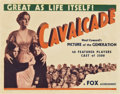 "Movie Posters:Drama, Cavalcade (Fox, 1933). Title Lobby Card (11"" X 14"").. ..."