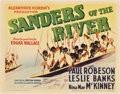 """Movie Posters:Adventure, Paul Robeson Lot (Various, 1935). Title Lobby Cards (2) (11"""" X14"""").. ... (Total: 2 Items)"""
