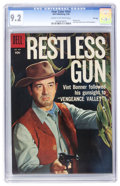 Golden Age (1938-1955):Western, Four Color #934 Restless Gun - File Copy (Dell, 1958) CGC NM- 9.2 Cream to off-white pages....