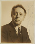 Music Memorabilia:Autographs and Signed Items, Arthur Rubinstein Signed Photo....