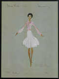 """Movie Posters:Musical, The Wiz (Universal, 1978). Very Rare Costume Sketch Posters (6) (18"""" X 24""""). Musical.. ... (Total: 6 Items)"""