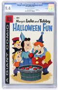 Silver Age (1956-1969):Cartoon Character, Dell Giant Comics - Marge's Little Lulu and Tubby Halloween Fun #2 File Copy (Dell, 1958) CGC NM 9.4 Off-white to white pages....