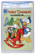 Silver Age (1956-1969):Cartoon Character, Walt Disney's Comics and Stories #190 (Dell, 1956) CGC NM+ 9.6 Off-white pages....