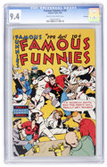 Golden Age (1938-1955):Adventure, Famous Funnies #199 File Copy (Eastern Color, 1952) CGC NM 9.4 Cream to off-white pages....