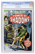 Bronze Age (1970-1979):Horror, Tower of Shadows Annual #1 (Marvel, 1971) CGC VF/NM 9.0 Off-whiteto white pages....