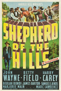 "Movie Posters:Drama, The Shepherd of the Hills (Paramount, 1941). One Sheet (27"" X 41"").Drama.. ..."