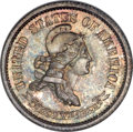 Patterns, 1869 10C Standard Silver Ten Cents, Judd-696, Pollock-775, R.5, PR66 NGC. CAC....