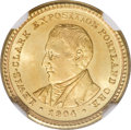 Commemorative Gold, 1904 G$1 Lewis and Clark MS64 NGC....