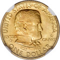 Commemorative Gold, 1922 G$1 Grant with Star MS67 NGC....