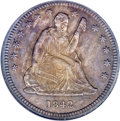 1842-O 25C Small Date--Improperly Cleaned--NCS. AU Details....(PCGS# 5403)