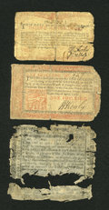 Colonial Notes:Mixed Colonies, Three Mixed Colonials.... (Total: 3 notes)