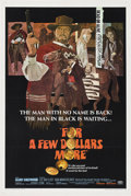 "Movie Posters:Western, For a Few Dollars More (United Artists, 1967). One Sheet (27"" X 41"").. ..."