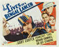 "Movie Posters:Adventure, The Lives of a Bengal Lancer (Paramount, 1935). Half Sheet (22"" X28"") Style B.. ..."