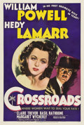 "Movie Posters:Mystery, Crossroads (MGM, 1942). One Sheet (27"" X 41"") Style C.. ..."