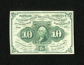 Fractional Currency:First Issue, Fr. 1242 10c First Issue Choice About New....