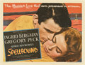 "Movie Posters:Hitchcock, Spellbound (United Artists, 1945). Half Sheet (22"" X 28"").. ..."
