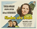 "Movie Posters:Hitchcock, Shadow of a Doubt (Universal, 1943). Half Sheet (22"" X 28"").. ..."