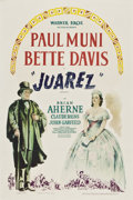 "Movie Posters:Drama, Juarez (Warner Brothers, 1939). One Sheet (27"" X 41"").. ..."
