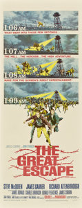 "Movie Posters:War, The Great Escape (United Artists, 1963). Insert (14"" X 36"").. ..."