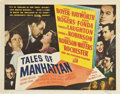 """Movie Posters:Drama, Tales of Manhattan (20th Century Fox, 1942). Title Lobby Card andLobby Card (11"""" X 14"""").. ... (Total: 2 Items)"""