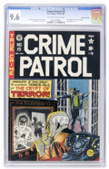 Golden Age (1938-1955):Crime, Crime Patrol #15 Gaines File pedigree (EC, 1950) CGC NM+ 9.6 Off-white to white pages....