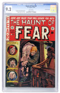 Golden Age (1938-1955):Horror, Haunt of Fear #20 Gaines File pedigree 11/11 (EC, 1953) CGC NM- 9.2White pages....