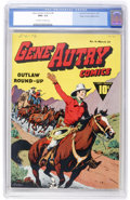 Golden Age (1938-1955):Western, Gene Autry Comics #6 Mile High pedigree (Fawcett, 1943) CGC NM+ 9.6Off-white to white pages....