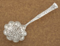 Silver Flatware, American:Tiffany, AN AMERICAN SILVER SUGAR SIFTER. Tiffany & Co., New York, NewYork, circa 1872. Marks: TIFFANY & CO., STERLING, M.6-3/8...