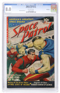 Golden Age (1938-1955):Science Fiction, Space Patrol #2 Bethlehem pedigree (Ziff-Davis, 1952) CGC VF 8.0Off-white pages....