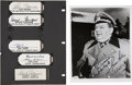 Movie/TV Memorabilia:Autographs and Signed Items, Hogan's Heroes Autographs Group Lot.... (Total: 6 Items)