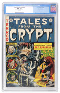 Golden Age (1938-1955):Horror, Tales From the Crypt #34 Gaines File pedigree (EC, 1953) CGC NM+9.6 Cream pages....