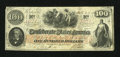 Confederate Notes:1862 Issues, T41 $100 1862 Issued at Austin.. ...