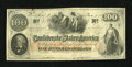 Confederate Notes:1862 Issues, T41 $100 1862 Reissued at San Antonio.. ...