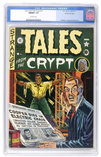 Tales From the Crypt #21 Gaines File pedigree 3/10 (EC, 1951) CGC NM/MT 9.8 Off-white pages