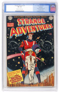 Golden Age (1938-1955):Science Fiction, Strange Adventures #9 Bethlehem pedigree (DC, 1951) CGC VF+ 8.5Off-white to white pages....