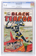 Golden Age (1938-1955):Superhero, The Black Terror #18 (Nedor Publications, 1947) CGC NM 9.4 Off-white to white pages....