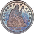 Seated Quarters, 1890 25C MS66 ★ NGC....