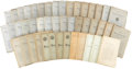 Books:Periodicals, [Francis Bacon]. Baconiana: A Quarterly Magazine - Group ofForty-Five Volumes.... (Total: 45 Items)