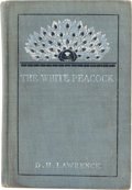 Books:First Editions, D. H. Lawrence. The White Peacock, A Novel. New York:Duffield & Company, 1911....