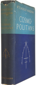 Books:Signed Editions, W. Somerset Maugham. Cosmopolitans. London: Heinemann, [1936].. First edition, first issue. Signed by Maugham ...