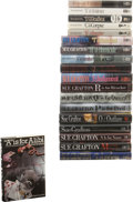 "Books:Signed Editions, Sue Grafton. ""Alphabet"" Mystery Series, A-R.... (Total: 19 Items)"