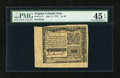 Colonial Notes:Virginia, Virginia July 17, 1775 1s/3d PMG Choice Extremely Fine 45 EPQ....