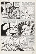 Original Comic Art:Panel Pages, Jack Kirby and Dick Ayers Tales of Suspense #11 page 4Original Art (Marvel, 1960)....