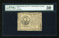 Colonial Notes:Continental Congress Issues, Continental Currency February 26, 1777 $30 PMG About Uncirculated50....