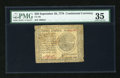 Colonial Notes:Continental Congress Issues, Continental Currency September 26, 1778 $20 PMG Choice Very Fine35....